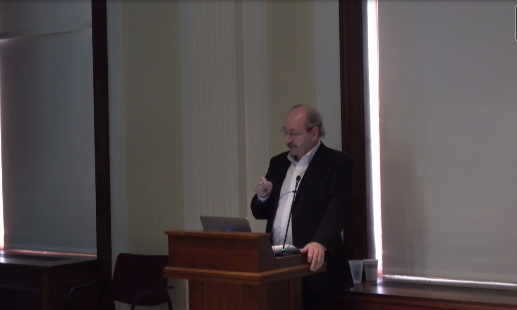 Declan McGonagle Lecture Photo